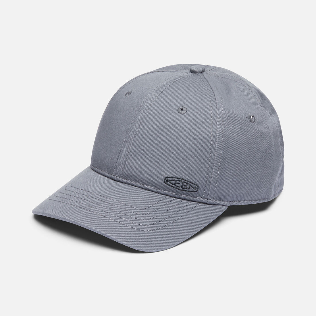 Dad Hat in Grey - large view.