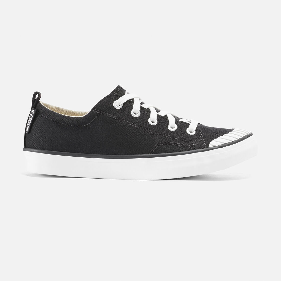 ELSA SNEAKER pour femme in Black/Star White - large view.
