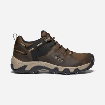 Men's Steens Waterproof Shoe in Canteen/Brindle - large view.