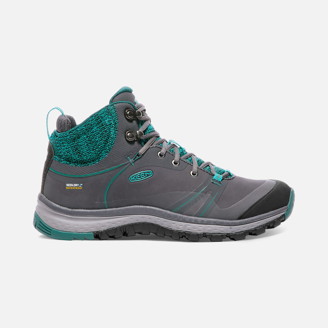 Women's TERRADORA PULSE Waterproof MID in Magnet/Baltic - large view.