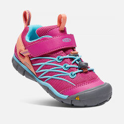 YOUNGER KIDS' CHANDLER CNX TRAINERS in Very Berry/Capri - small view.