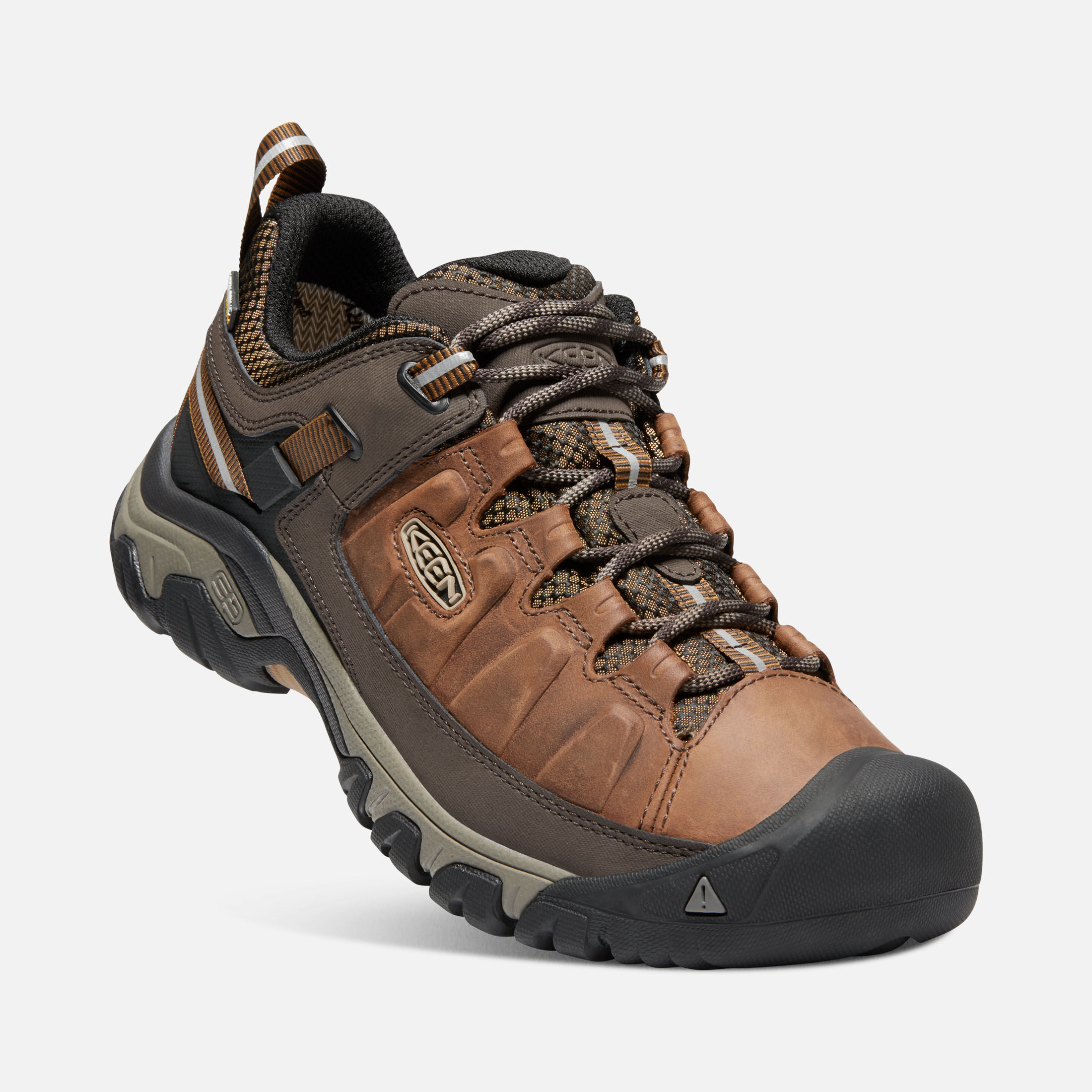 KEEN Targhee III WP Chaussures de randonnée big ben/golden brown 5xzVR