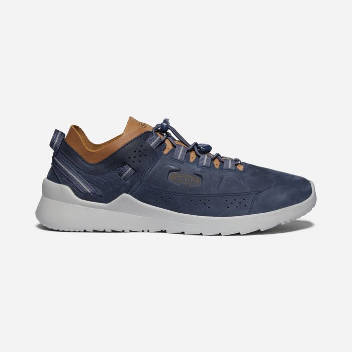 Men's Highland Casual Trainers in BLUE NIGHTS/DRIZZLE - large view.