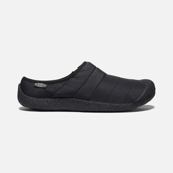 MEN'S HOWSER SLIDE in BLACK/BLACK - large view.