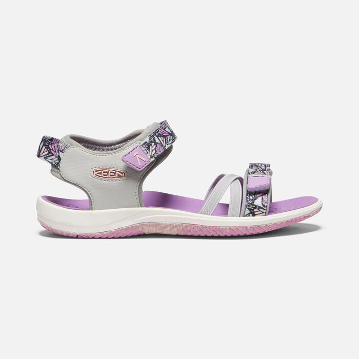 Big Kids' Verano Sandal in Vapor/African Violet - large view.