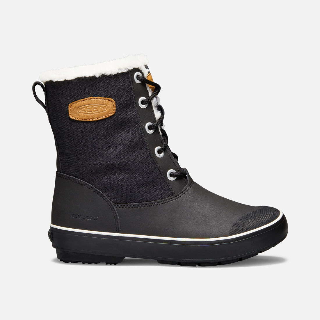 Women's Elsa L Boot in Black - large view.
