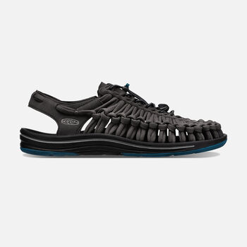 Men's UNEEK Flat Cord in RAVEN/INK BLUE - large view.
