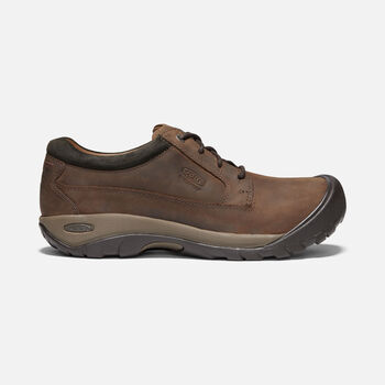 Men's Austin Casual Shoes in CHOCOLATE BROWN/BLACK OLIVE - large view.