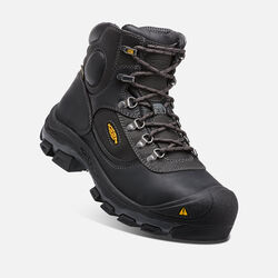 "Men's Leavenworth Internal Met 6"" Boot (Steel Toe) in Black - small view."
