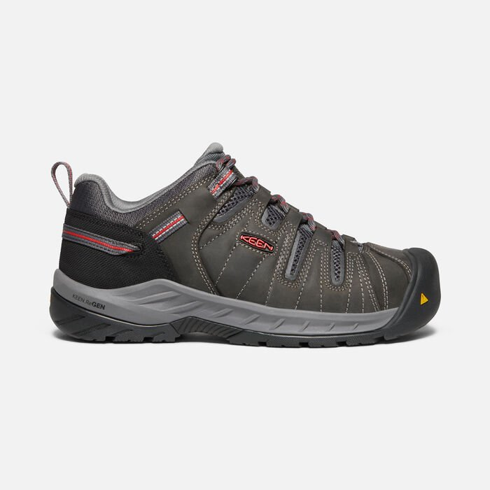 Women's Flint II (Steel Toe) in Magnet/Rose - large view.