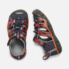 Little Kids' SEACAMP II CNX in DRESS BLUES/SPICY ORANGE - small view.