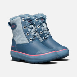 Big Kids' Elsa Boot in Captains Blue/Sugar Coral - small view.