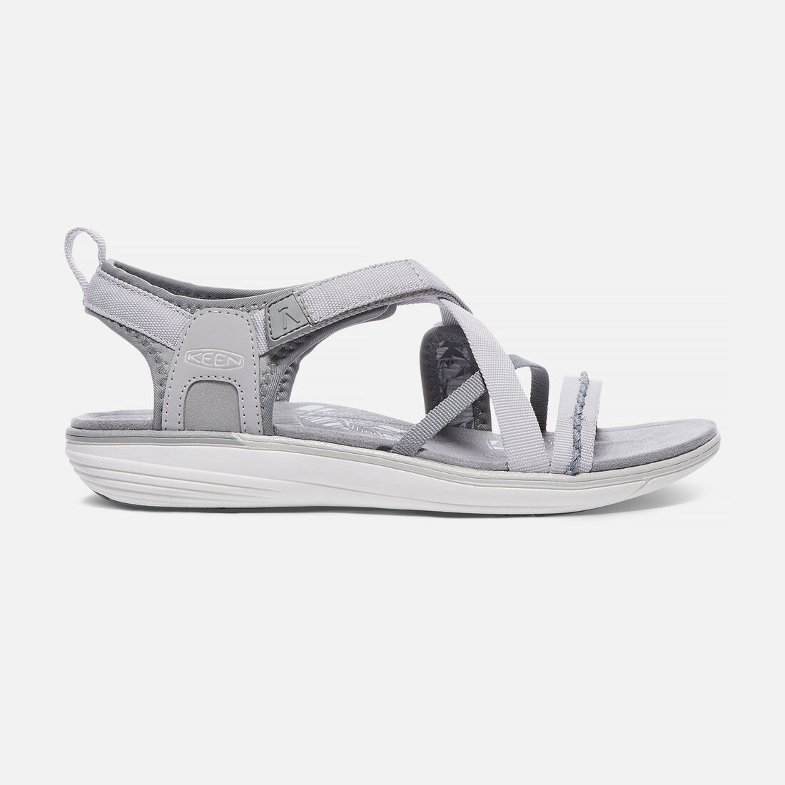 WOMEN'S MAYA STRAP SANDALS in Neutral Grey/Vapor - large view.
