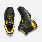 CSA Hamilton Waterproof Boot (Carbon Toe) Pour Homme in BLACK/YELLOW - small view.