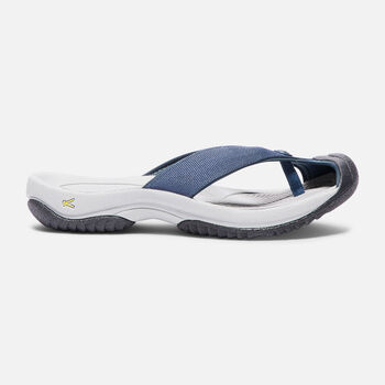 WAIMEA H2 SANDALES POUR HOMMES in MIDNIGHT NAVY/NEUTRAL GRAY - large view.