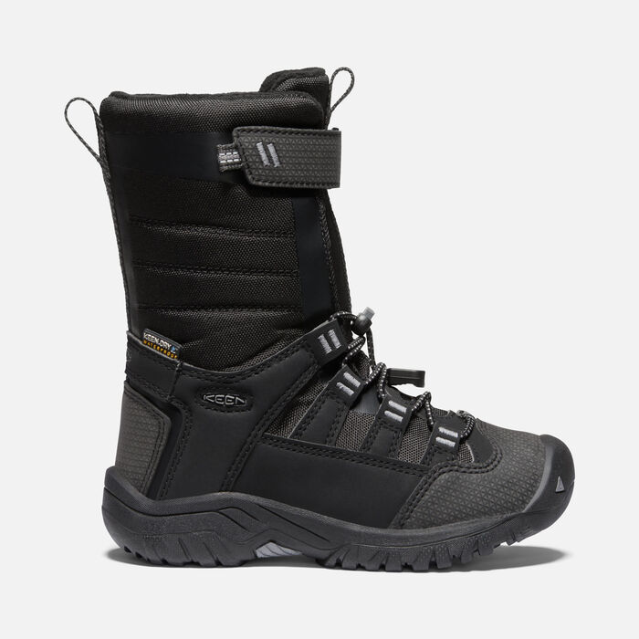 Little Kids' Winterport NEO Waterproof Boot in Raven/Black - large view.