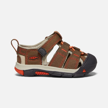 TODDLERS' NEWPORT H2 SANDALS in DARK EARTH/SPICY ORANGE - large view.