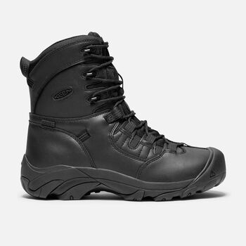 "Detroit 8"" Waterproof Boot (Soft Toe) pour femme in Night - large view."