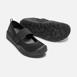 Big Kids' MOXIE GORE FLAT in Black/Magnet - small view.