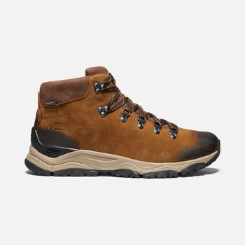 Men's Feldberg Apx Waterproof Hiking Boots in COGNAC - large view.