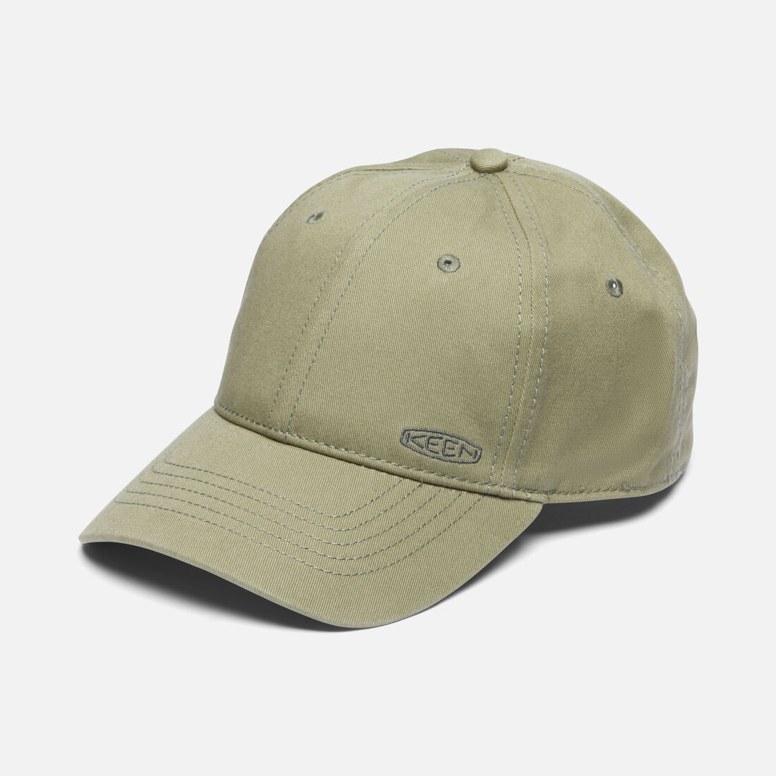 Dad Hat in Olive - large view.