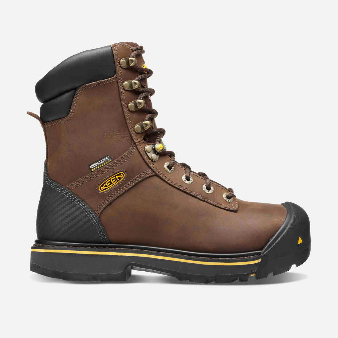 CSA Abitibi (Steel Toe) pour homme in Slate Black - large view.