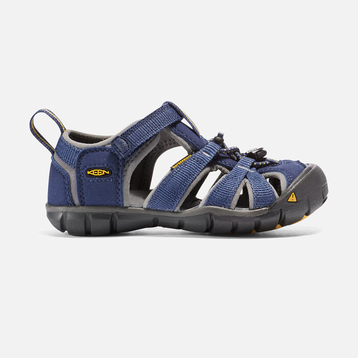 Younger Kids' Seacamp II Cnx Sandals in BLUE DEPTHS/GARGOYLE - large view.