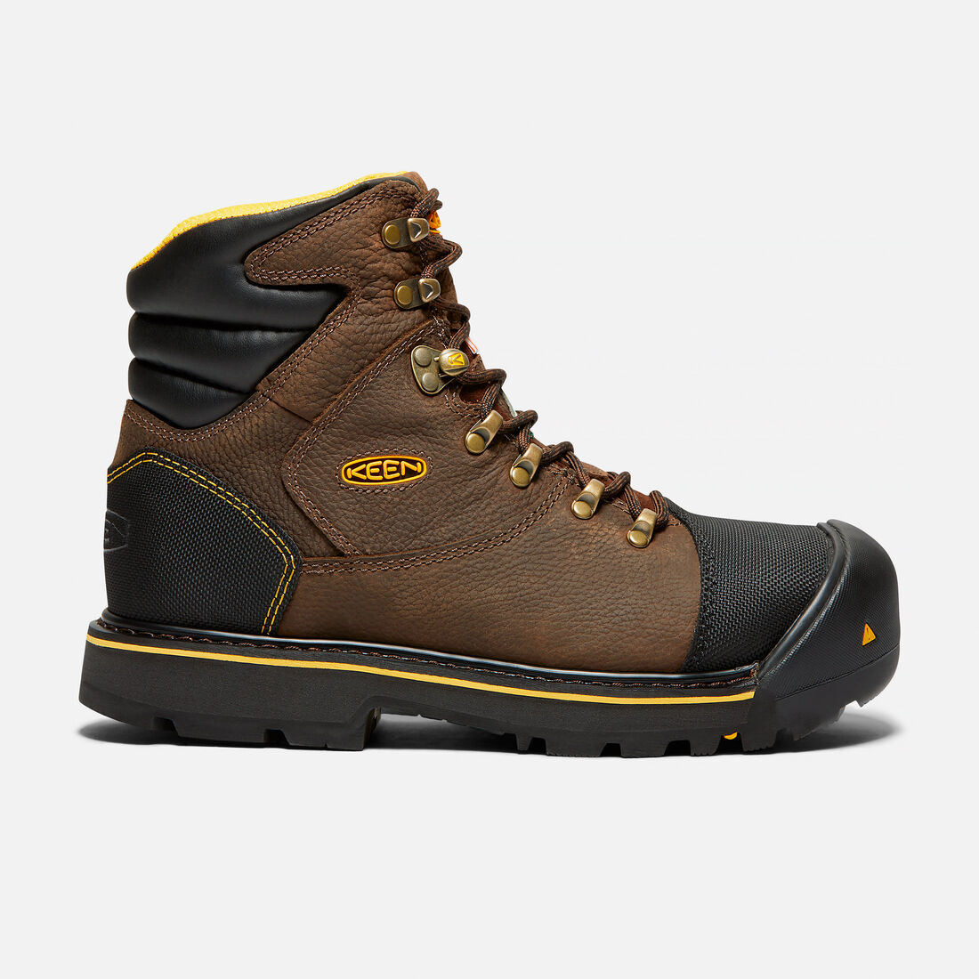 CSA Fort Mac Boot (Steel Toe) pour homme in Slate Black - large view.