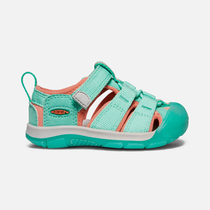 Toddlers' Newport H2 Sandals in Cockatoo/Coral - large view.