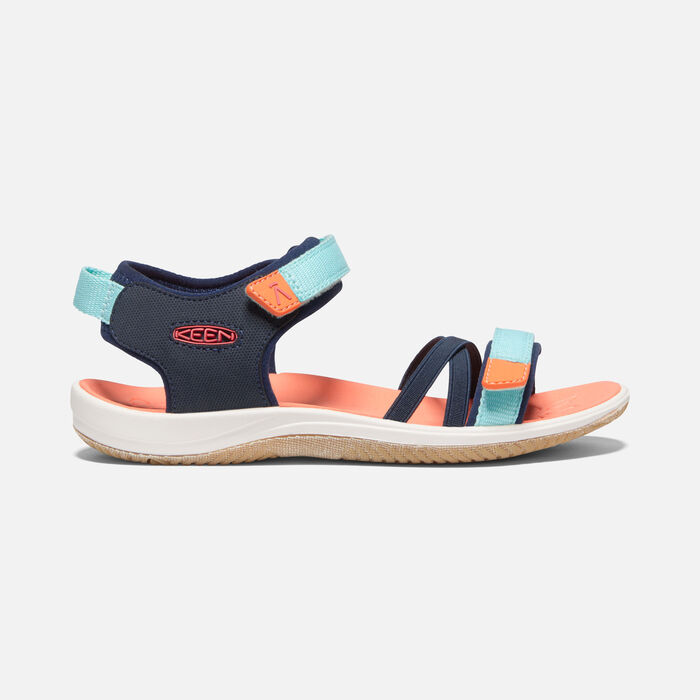 Big Kids' Verano Sandal in Black Iris/Blue Tint - large view.