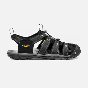 MEN'S CLEARWATER CNX SANDALS in BLACK/GARGOYLE - large view.