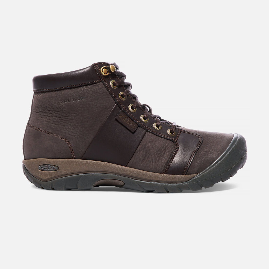 948388a6447 Men's AUSTIN Waterproof Mid - A handsome high-top for the office or ...