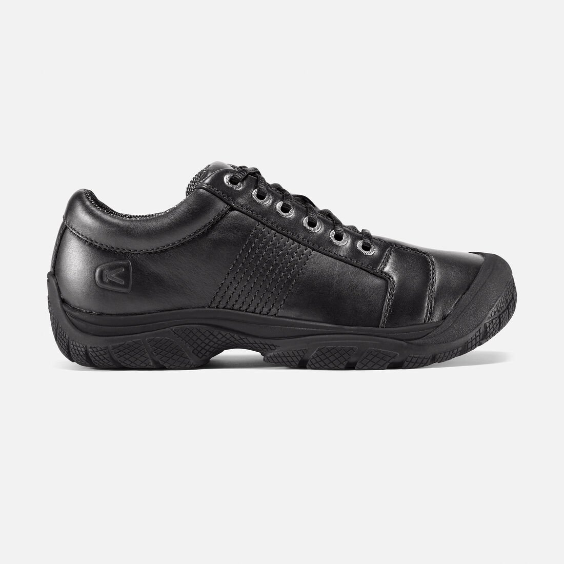 Men's PTC Oxford in Black - large view.
