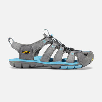 Women's Clearwater Cnx Sandals in GARGOYLE/NORSE BLUE - large view.