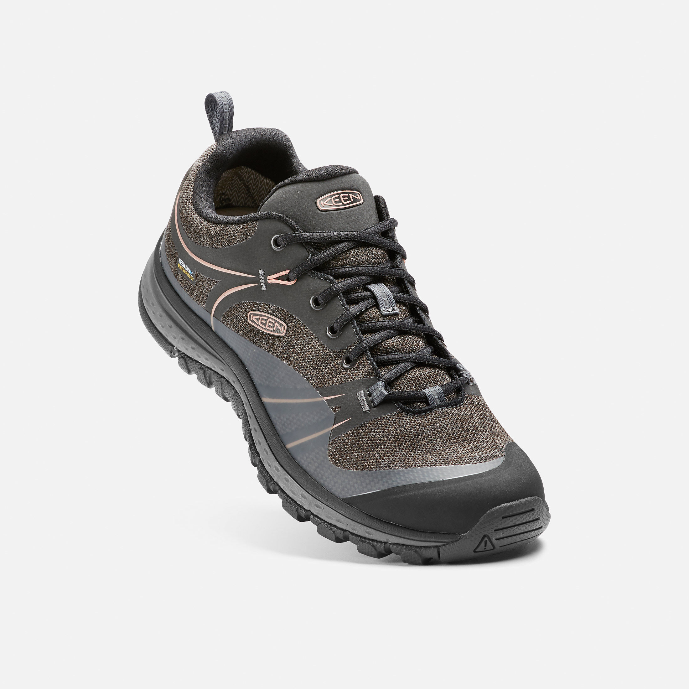 Keen Terradora Wp Us 9.5 Eu 40 Blk Athletic Support Trail Hiking Womens Shoes Women's Shoes Athletic Shoes