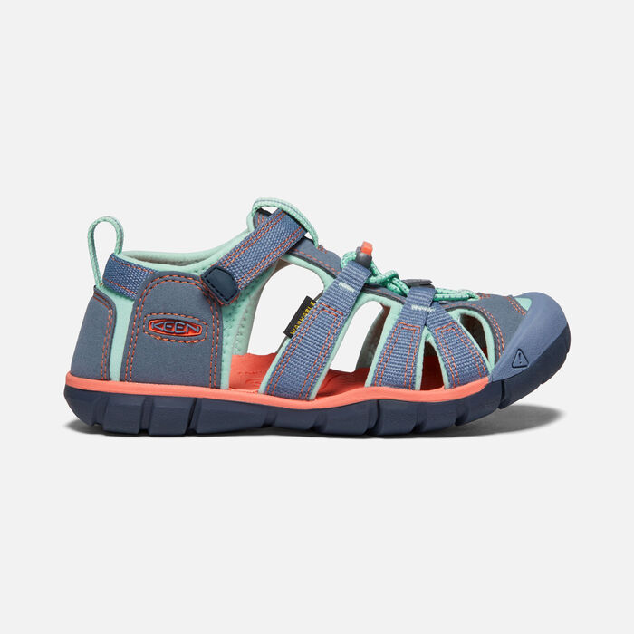 Younger Kids' Seacamp II Cnx Sandals in Flint Stone/Ocean Wave - large view.