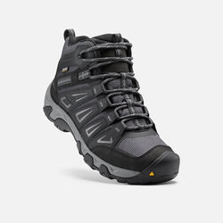 Men's Oakridge Waterproof Mid Wide in Magnet/Gargoyle - small view.