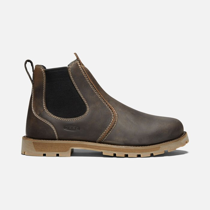 Men's Seattle Romeo (Soft Toe) in Cascade Brown/Black - large view.