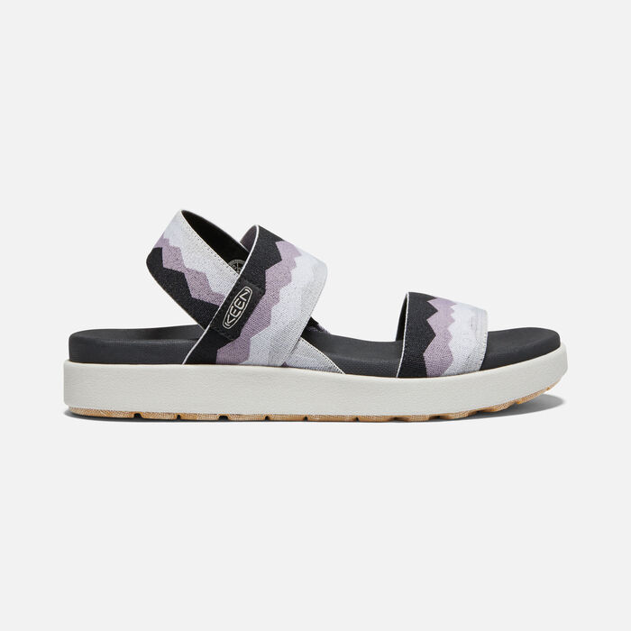 ELLE BACKSTRAP SANDAL POUR FEMME in Black/Thistle - large view.