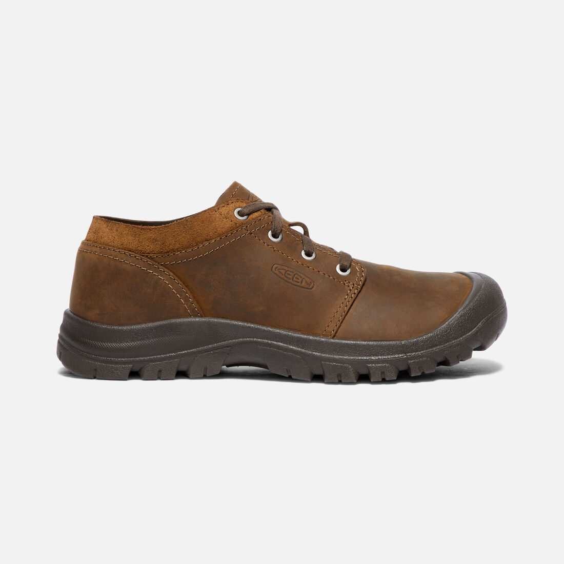 MEN'S GRAYSON OXFORD SHOES in Mid Brown/Scylum Full-Grain - large view.