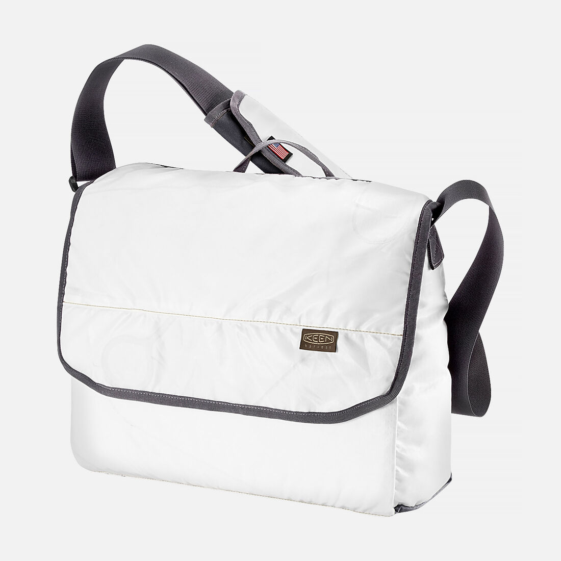 Keen Harvest Iii Messenger Bag In White Grey Large View
