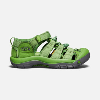 OLDER KIDS' NEWPORT H2 SANDALS in FLUORITE GREEN - large view.