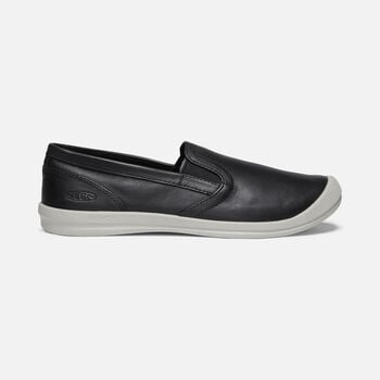 Women's LORELAI SLIP-ON in BLACK - large view.