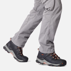 MEN'S GYPSUM II WATERPROOF MID HIKING BOOTS in  - on-body view.