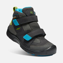 Big Kids' HIKEPORT STRAP Waterproof Mid in MAGNET/GREENERY - small view.