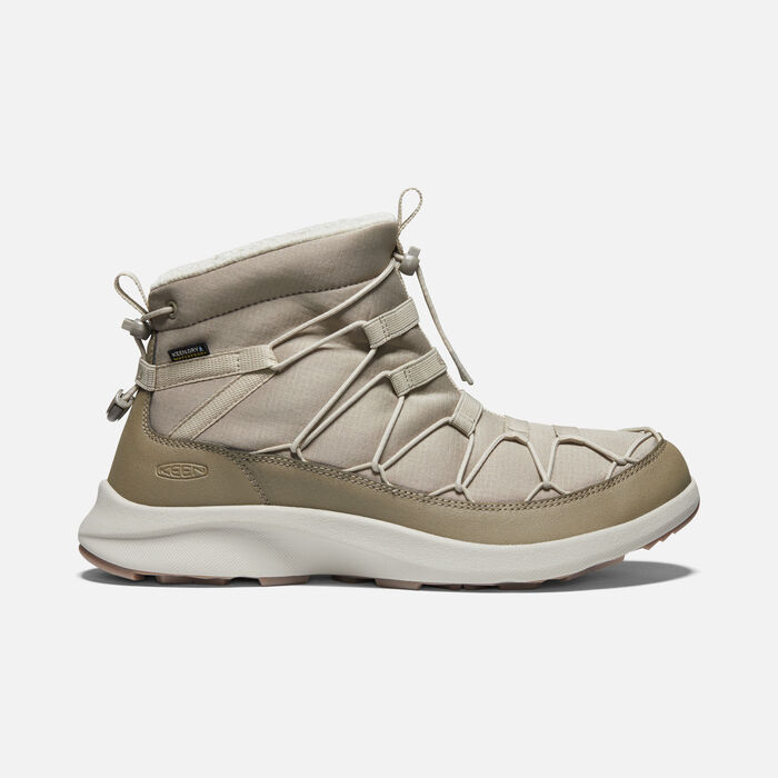 Men's UNEEK SNK Waterproof Chukka in Timberwolf/Plaza Taupe - large view.