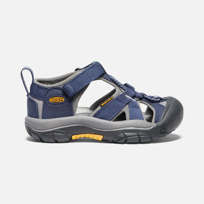 Little Kids' Venice H2 in Navy/Gray - large view.