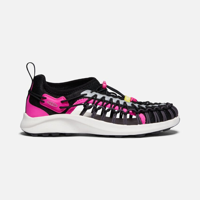 Women's Uneek SNK Shoe in B.E.A.R. Pink - large view.
