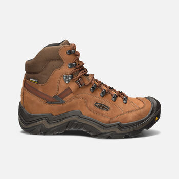 Men's Galleo Waterproof Hiking Boots in Cognac/Dark Chocolate - large view.