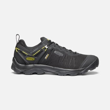 Men's VENTURE WP in BLACK/KEEN YELLOW - large view.